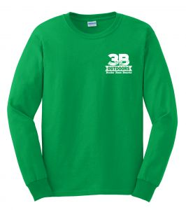 3B-Outdoors-TShirt-LS-Green-Front