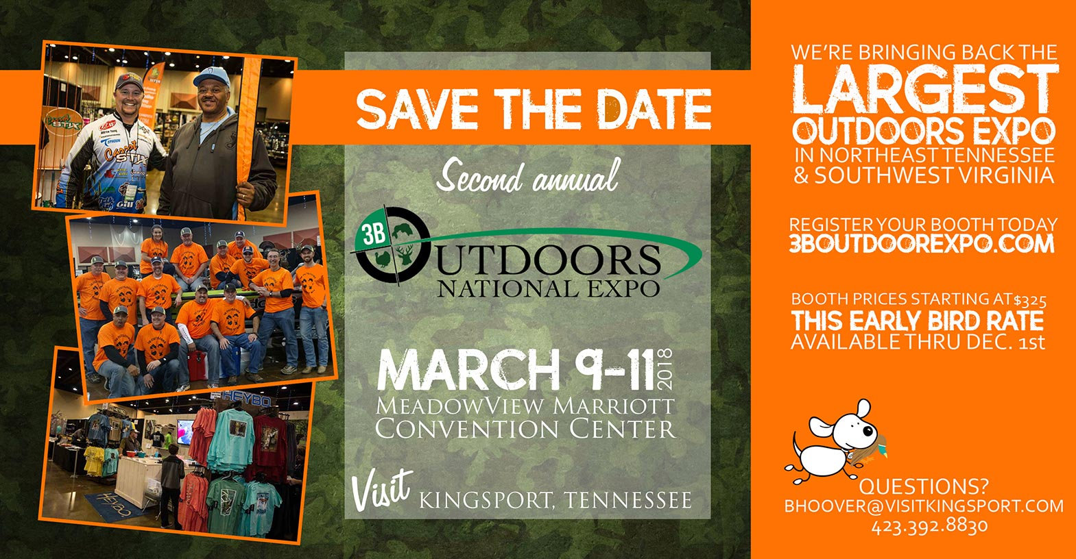 Save The Date 2018 3b Outdoors Expo